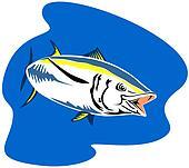 Yellow finned tuna