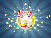 lolly candy popcorn