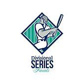 Divisional Baseball Series Finals Retro