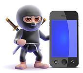 3d Ninja smartphone