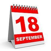 Calendar. 18 September.