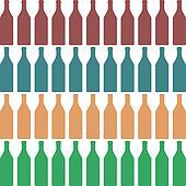 Bottle silhouette color