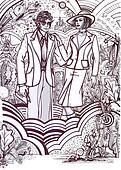 History of Fashion: 70s c