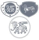 Icon mechanical elephant