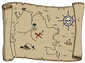Blank Treasure Map
