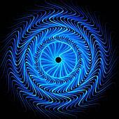 blue wheel of hell