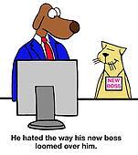 New Boss Looms