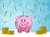 Pig moneybox