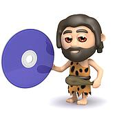 3d Caveman has a dvd