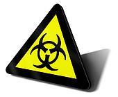 warning sign bio hazard danger