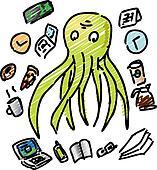 Overworked octopus