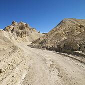 Death Valley road.
