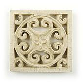 Ornate Wood Carving Ornament