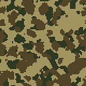 Olive green seamless digital camo