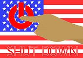 America was shutdown them governmen