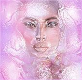 Pink Plastic Wrap Face