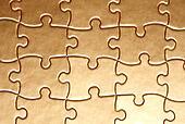 golden jigsaw