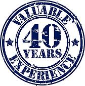Valuable 40 years of experience rub
