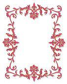 Border Design Pink 3D