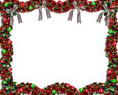 Christmas Garland Border