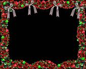 Christmas Garland Black