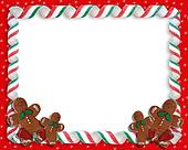 Christmas Cookies Border