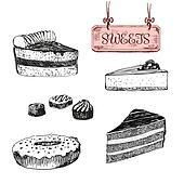 Sweets. Dessert.