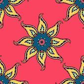 Vintage Seamless patterns.