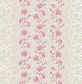 Vivid repeating floral