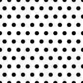 Black Dots Background