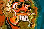 Thai demon mask