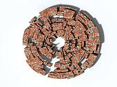 3D rendering of maze