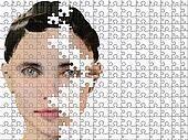 Puzzle woman
