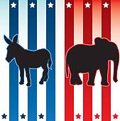American election illustration