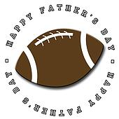Father's Day Football Icon