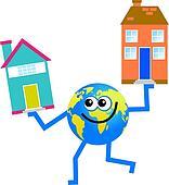 housing globe
