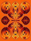 Jack O Lantern Kaleidoscope