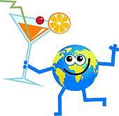 cocktail globe