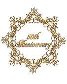 50th anniversary Design element