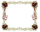 Christmas Frame Fancy Border
