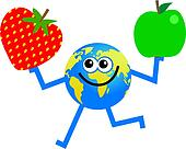 fruit globe