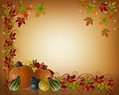 Thanksgiving Autumn Background