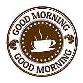 Good morning stamp