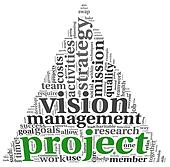 Project and vision in tag cloud