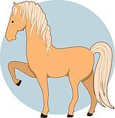 Horse Palamino