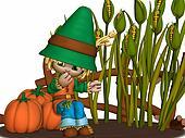 Toon Scarecrow