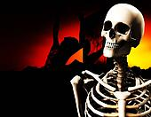 Zombie And Skull Head 9