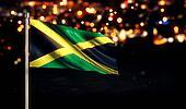 Jamaica National Flag City Light