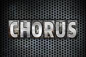 Chorus Concept Metal Letterpress Type