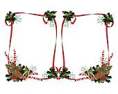 Christmas Treats double frame